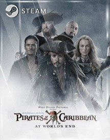 pirates of the caribbean: at worlds end steam key [eu]
