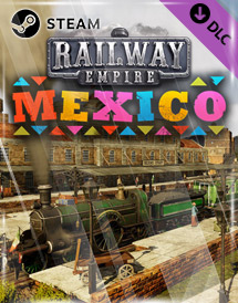 railway empire - mexico dlc steam key [global]