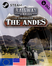 railway empire: crossing the andes dlc steam key [eu/us]