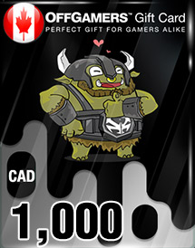 offgamers cad1,000 gift card ca