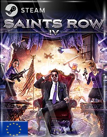 saints row iv steam key [eu]