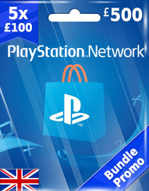 gbp500 psn card uk bundle promo