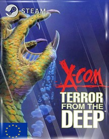 x-com: terror from the deep steam key [eu]