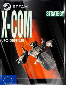 x-com: ufo defense steam key [eu]