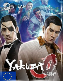 yakuza 0 steam key [eu]