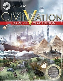 civilization v game of the year steam key [global]