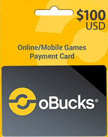 obucks card usd100