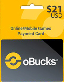 obucks card usd21
