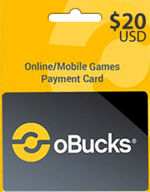 obucks card usd20