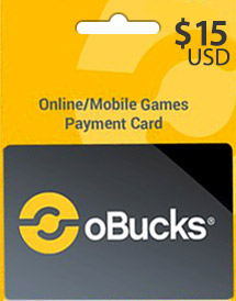 obucks card usd15