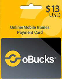 obucks card usd13