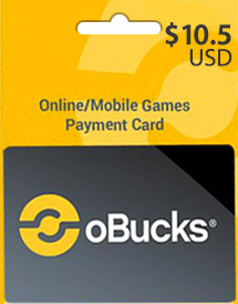 obucks card usd10.5