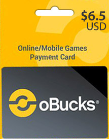 obucks card usd6.5