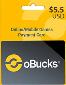 obucks card usd5.5