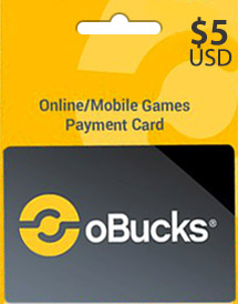 obucks card usd5