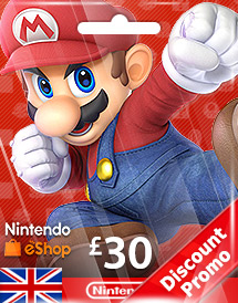 nintendo gbp30 eshop card uk discount promo