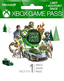 xbox game pass 1 month global
