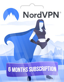 nordvpn 6 months subscription global