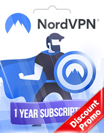 nordvpn 1 year subscription global discount promo