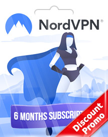 nordvpn 6 months subscription global discount promo