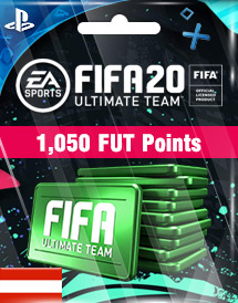 fifa 20 1,050 fut points ps4 at