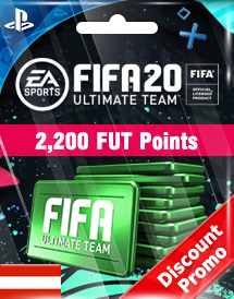 fifa 20 2,200 fut points ps4 at discount promo
