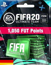 fifa 20 1,050 fut points ps4 de