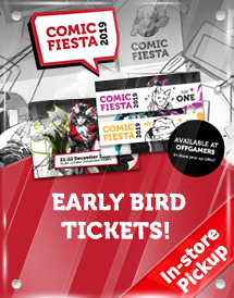 comic fiesta 2019 - early bird tickets