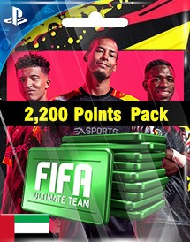 fifa 20 2,200 points pack ps4 ae