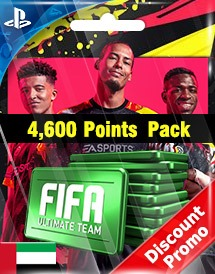 fifa 20 4,600 points pack ps4 ae discount promo