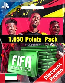 fifa 20 1,050 points pack ps4 ae discount promo