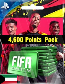 fifa 20 4,600 points pack ps4 kw