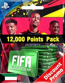 fifa 20 12,000 points pack ps4 kw discount promo