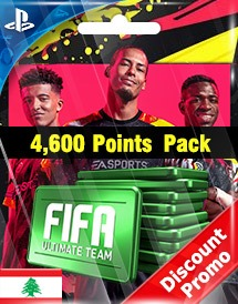 fifa 20 4,600 points pack ps4 le discount promo