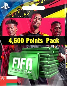 fifa 20 4,600 points pack ps4 om