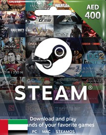 steam wallet 充值卡 400迪拉姆 阿联酋