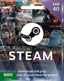 steam wallet 充值卡 40沙特里亚尔 沙特