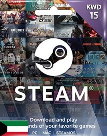 steam wallet 充值卡 15科威特第纳尔 科威特
