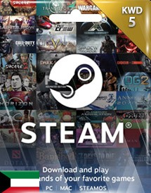steam wallet 充值卡 5科威特第纳尔 科威特