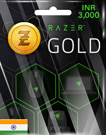 razer gold inr3,000 in