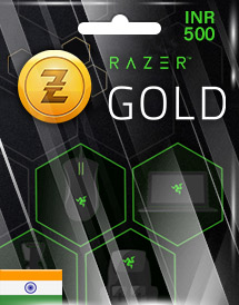 razer gold inr500 in
