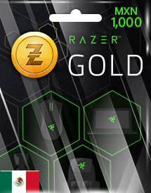razer gold mxn1,000 mx