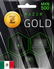 razer gold mxn500 mx