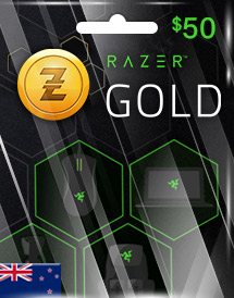 razer gold nzd50 nz