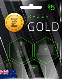 razer gold nzd5 nz