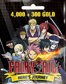 fairy tail hero's journey 4,000 + 300 gold eu/us