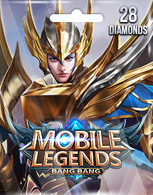 mobile legends: bang bang 28 diamonds mobile