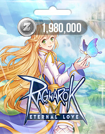 ragnarok m: eternal love 1,980,000 zeny gravity