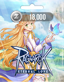 ragnarok m: eternal love 18,000 zeny gravity