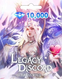 legacy of discord - furious wings 10,000 diamonds mobile gtar